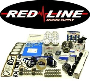 93 94 95 Chevrolet Gm Truck 350 5 7l V8 Engine Rebuild Overhaul Kit