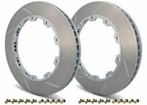 Girodisc Front 2pc 360mm Rotor Rings For 08 Mercedes Clk63 Amg Black Series