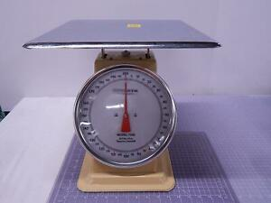 Detecto T200 Top Loading Dial Scale 200 Lbs X 8 Oz T104367