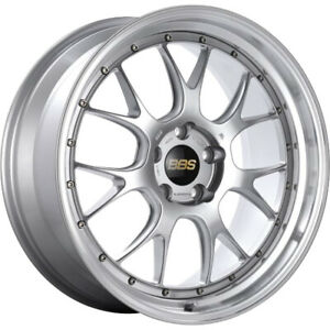 4 19x9 5 Silver Machined Wheel Bbs Lmr 5x120 35