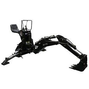 Titan Backhoe Excavator 3 Point Category 0 Tractor Attachment Bucket Loader