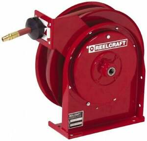 Reelcraft 20 Spring Retractable Hose Reel 300 Psi Hose Included
