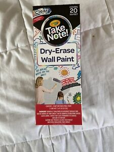 Dry Erase Wall Paint