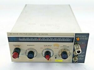 Agilent Hp Keysight 8554b Spectrum Analyzer Rf Section For Use With 141t