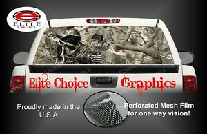 Bow Reaper Obliteration Camo Rear Window Graphic Decal Sticker Truck Car