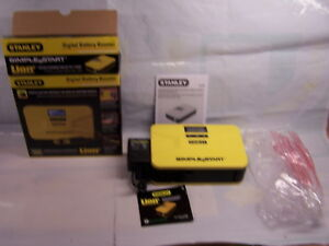 Stanley Digital Battery Booster Lithium Ion Technology 12 Volt Simple Start