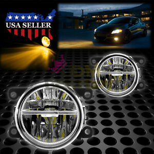 Pair Led 60w Fog Light Oem Quality Replacement For 09 20 Mitsubishi Outlander F5