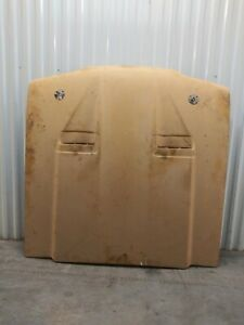 No Shipping Ford Mustang Fox Body 87 93 Cervini Ram Air Dual Scoop Hood