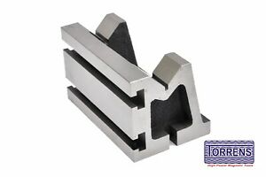 V angle Plates slotted 3 X 3 X 5 For Milling Workholding