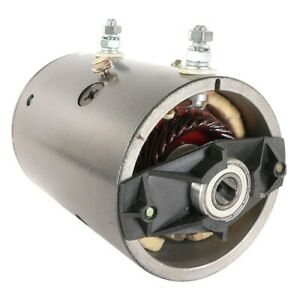 New Hydraulic Pump Motor Clark Monarch Ccw 12 Volt Slot W 8920d Mhn 4002a