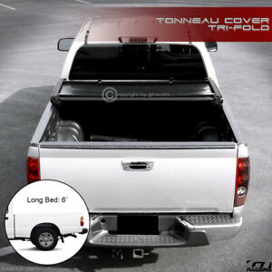 For 1995 2004 Toyota Tacoma 1989 Pickup 6 72 Bed Tri Fold Soft Tonneau Cover