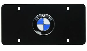 genuine New Stainless Steel Marque License Plate For Bmw F30 G01 G05