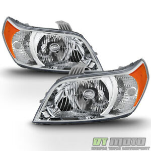 New Left Right 2009 2011 Chevy Aveo5 Aveo 5 Halogen Headlights Replacement