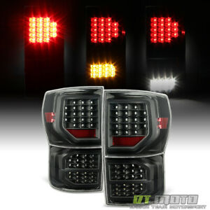 For Black 2007 2013 Toyota Tundra Led Tail Lights Brake Lamps 07 13 Left right