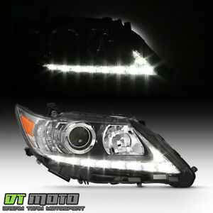 For 2013 2015 Lexus Es350 Es300h Led Drl Projector Headlight Lamp Passenger Side