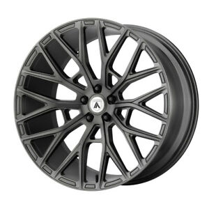 4 New 20x9 Asanti Black Leo Matte Graphite Wheel rim 5x112 Et35