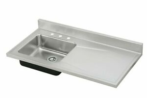 Elkay S4819l0 Sink Satin Finish