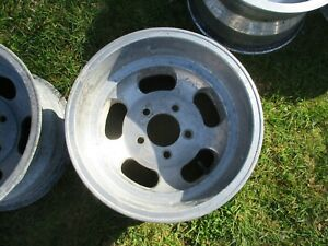 14 X 8 5 Slotted Mag Wheel Old School Slot Vintage 5 X 4 75 Et Ansen Chevy 12
