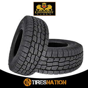 2 New Lionhart Lionclaw Atx2 Lt265 70r16 121 118s All Season Performance Tires