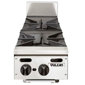 Vulcan Natural Gas 12 2 Burner Countertop Range 60 000 Btu