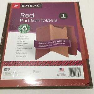 Smead Classification Folders Pressboard With Safeshield Fasteners Made In Usa