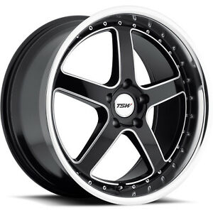 4 19x9 5 Black Wheel Tsw Carthage 5x4 5 40