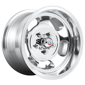 1 New Us Mag Wheel Indy 17x10 8x165 10 High Luster Polished 25mm Uc101