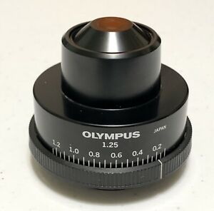 Olympus Bh2 cd 1 25 Abbe Substage Microscope Condenser Bh 2 Bhs Bht