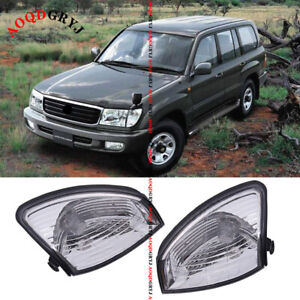 Front Bumper Corner Lamp Light Housing For Toyota Land Cruiser Lc fzj100 1998 05