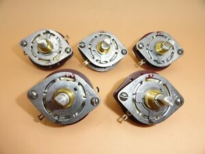 Rotary Selector Switch 3 Position W on Off Switch New nos lot Of 5