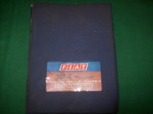 Fiat 124 Special Catalogue Spare Parts