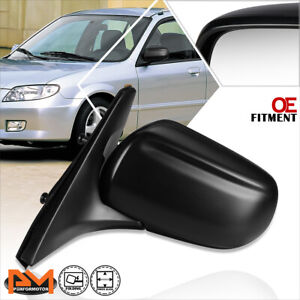 For 99 03 Mazda Protege Oe Style Powered Adjustable Side Rear View Mirror Left