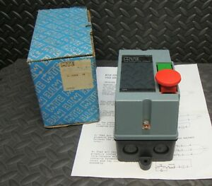 New Mte Components 01 32505 039 Manual Motor Starter Enclosure Switch