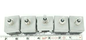 Lot Of 5 Mcgill 0140 3023 Toggle Switches 01403023