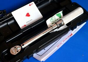 Snap On Tool 1 4 Drive Ratchet Click Type Torque Wrench 200inlb W Case New 2020