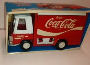 VINTAGE BUDDY L JR COCA COLA DELIVERY TRUCK IN BOX