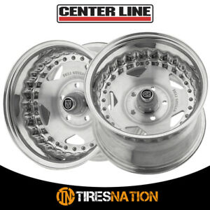 2 Centerline 070000p Convo Pro 15x8 5x4 50 81 00 Hub 00 Polished Wheel Rim