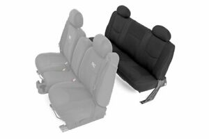 Rough Country Neoprene Seat Covers For 99 06 Chevy Silverado 1500 Ext Cab Rear