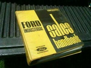 Old Ford Industrial Tractor Sales Catalog Manual Cf185