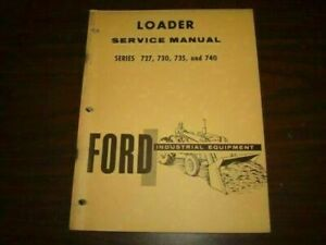 Ford 3400 4400 3500 4500 4000 5000 Tractor 727 730 735 740 Service Manual Bm417