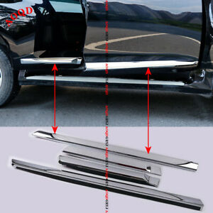 For Toyota Land Cruiser Lc200 2008 2020 Chrome Door Body Molding Covers Trim