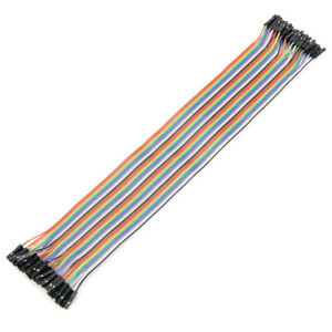 400pcs 30cm Female To Female Breadboard Wires Jumper Cable Dupont Wire