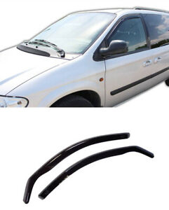 For Chrysler Voyager Rg 2001 08 Window Visors Sun Rain Guard Wind Deflectors