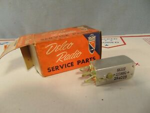 Nos 1950 s Era Delco Radio Coil Part Chevrolet Buick Olds 1218661 294025