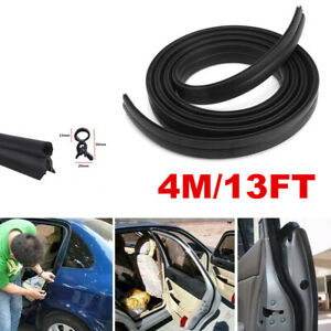 4m Car Door Edge Guards Trim Molding Protection Strip Scratch Protector Anti rub