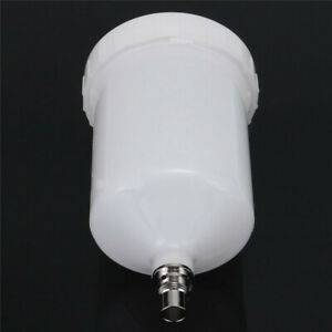 600ml Plastic Paint Spray Gun Cup Pot Container Tools For Sata Sprayers Parts