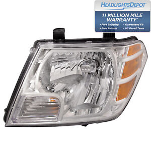 Fits Nissan Frontier 09 18 Headlight Headlamp Driver Side New