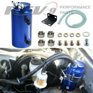 Rev9 Ac 091 Blue Universal Aluminum Oil Catch Can 750ml For Toyota Matrix