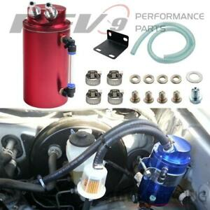 Rev9 Ac 091 Red Universal Aluminum Oil Catch Can 750ml For Toyota Matrix