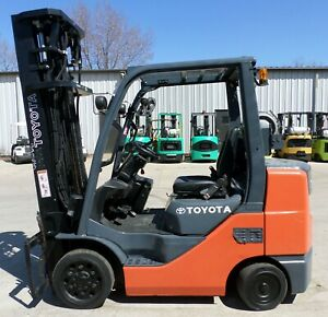 Toyota Model 8fgcu32 2008 6500 Lbs Capacity Great Cushion Tire Forklift